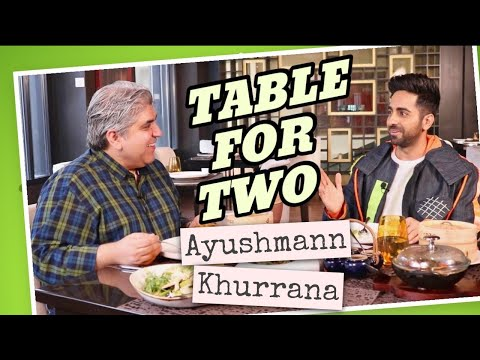 Table For Two: Ayushmann Khurrana with Rajeev Masand I Bala I Dreamgirl I Gulabo Sitabo
