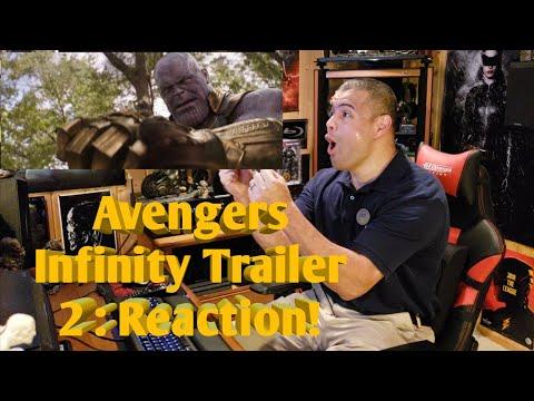 Marvel Studios Avengers : Infinity War Trailer 2 : Reaction!