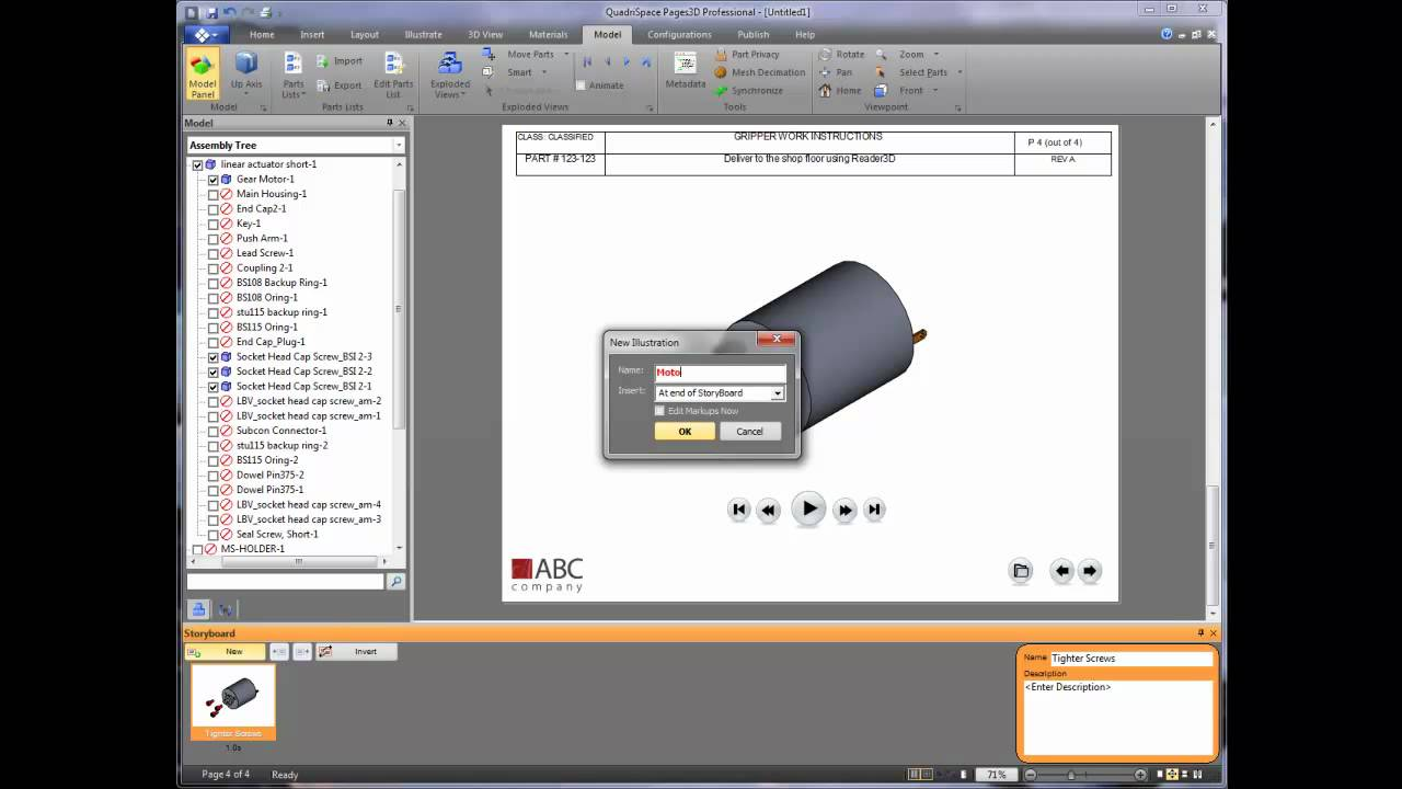Creating Work Instructions From 3d Models Youtube