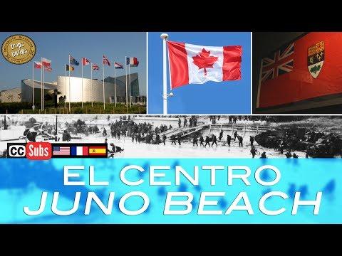 EL CENTRO JUNO BEACH (Courseulles-sur-Mer, Normandía)