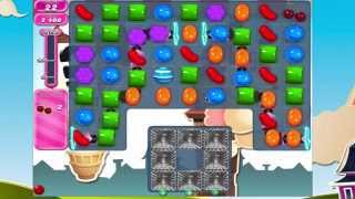 Candy Crush Saga Level 708  No Boosters 3 Stars!