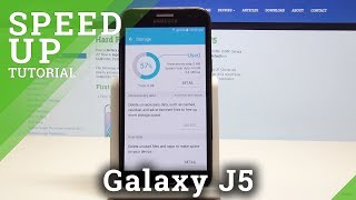 How to Speed Up Samsung Galaxy J5 - Optimization Process