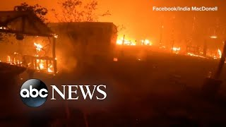 Thousands Flee From Apocalyptic Fires In Australia L Abc News
