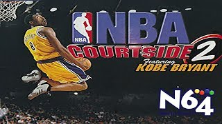 NBA Courtside 2 Feat Kobe Bryant - Nintendo 64 Review - Ultra HDMI - HD