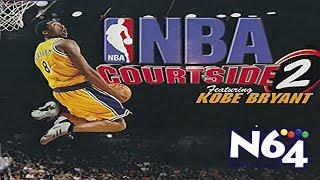 NBA Courtside 2 Feat Kobe Bryant - Nintendo 64 Review - Ultra HDMI - HD