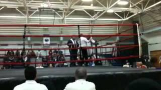 Betty walker boxing match