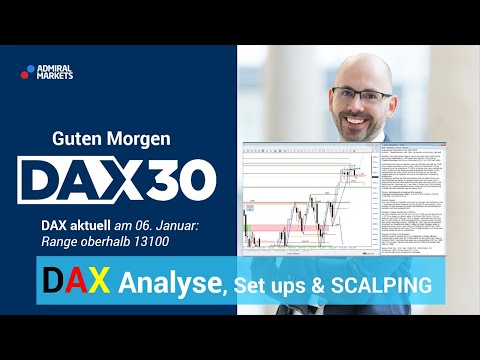 DAX aktuell: Analyse, Trading-Ideen & Scalping | DAX 30 | CFD Trading | DAX Analyse | 06.01.2020