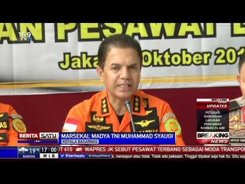 Basarnas: Pemerintah Hadir dan All Out Bekerja Tangani Insiden Lion Air