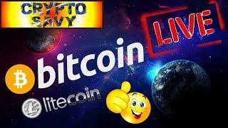🔥 BITCOIN LIVE STREAM 🔥bitcoin litecoin price prediction, analysis, news, trading