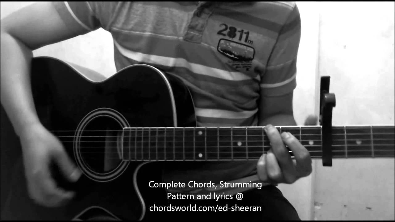 Lego House Chords by Ed Sheeran - How To Play ...