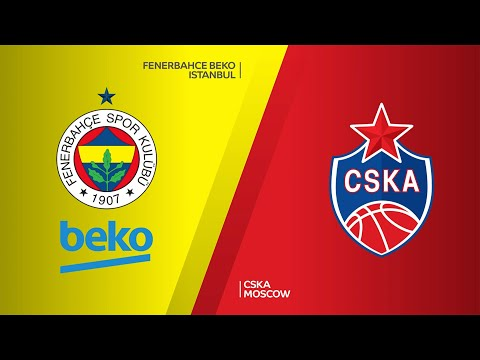 Fenerbahce Beko Istanbul - CSKA Moscow Highlights | Turkish Airlines EuroLeague, RS Round 3