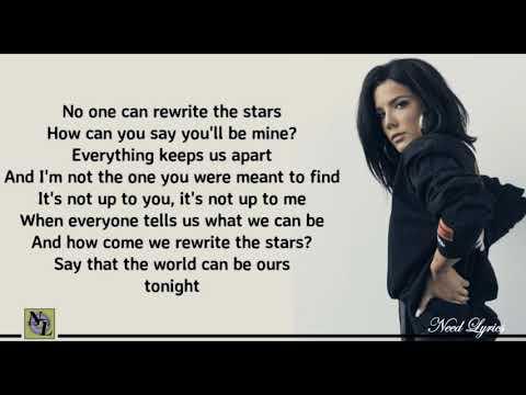 Rewrite the Stars Lyrics - James Arthur Ft. Halsey