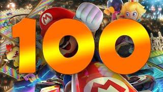 100 Runden Mario Kart 8 Deluxe!