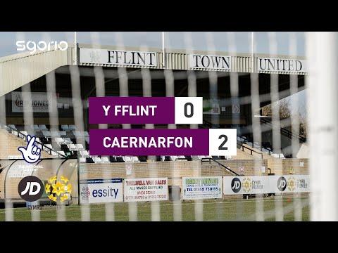 Flint Caernarfon Goals And Highlights