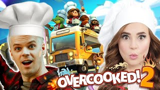 LETS PLAY: Overcooked 2 w/ Rosanna Pansino!