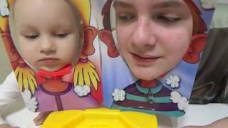 Меня НИКТО не понимает!  Играю с Алисой в Пирог в лицо Развлечения для детей детская игра
