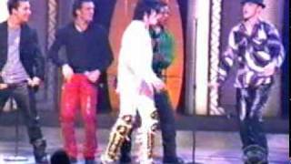 The Jacksons & NSYNC - Dancing machine (MSG).mpg