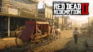 Red Dead Redemption 2 - 10 NEW IMAGES & INFO! Huge City, Animals, Gameplay Features & More!
