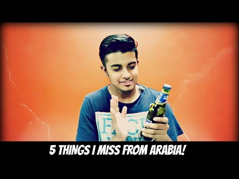 5 Things I Miss From Saudi Arabia