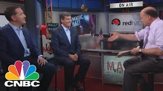 Red Hat CEO & CFO: Ruling The Cloud | Mad Money | CNBC