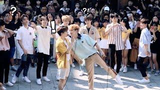 Trying to Kiss A Boy Group Member (HNB) [ENG SUB]