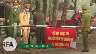 Tin nóng RFA | Dịch COVID – 19: Bộ Y tế lo ngại người trở về Trung Quốc trốn cách ly