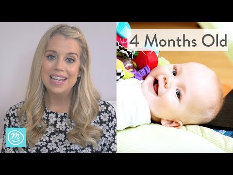 4 Months Old: What to Expect - Channel Mum