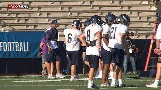Cowboys QB Dak Prescott helps coach Highland Park HS football team
