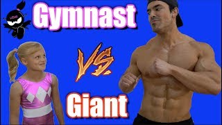 Gymnast Vs Giant Who Is Stronger Payton Or The Bodybuilder