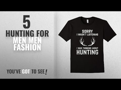 Top 10 Hunting For Men [Men Fashion Winter 2018 ]: Funny Hunting Tshirt Gift For Bow And Rifle Deer