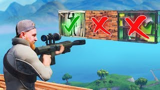Shoot The Person Behind The Door Challenge! | Fortnite
