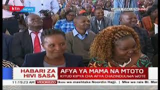 Hafla ya afya ya mama na mtoto inaongozwa na Bi Margaret Kenyatta