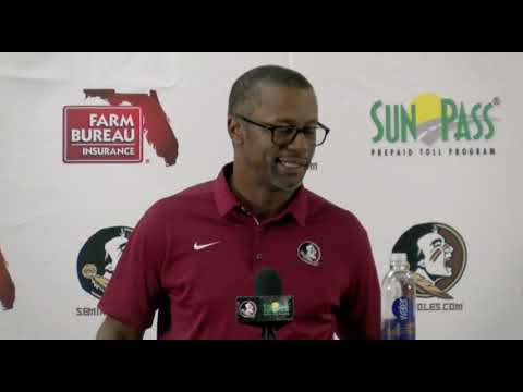 Florida State Head Football Coach Willie Taggart On Hurricane Michael, ACC Replay, Wake Forest