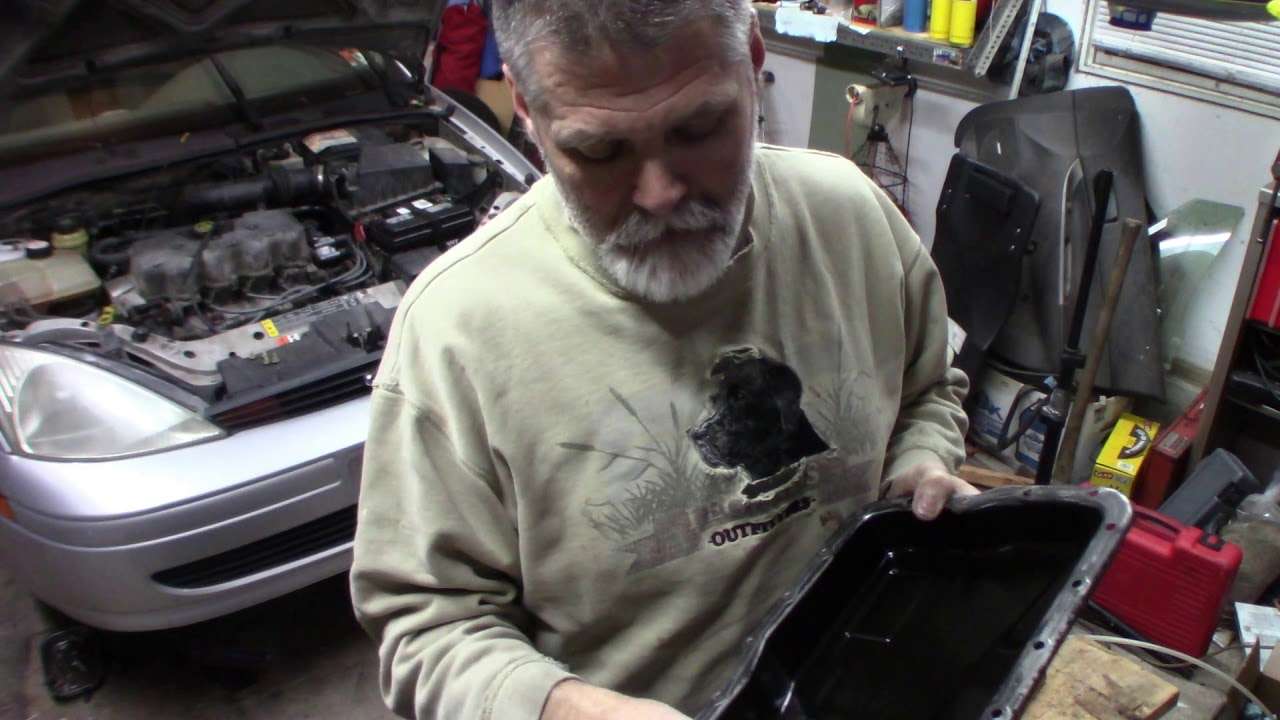 2000 Ford Focus Transmission Fluid And Filter Change Youtube