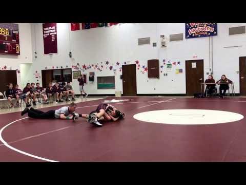 Danny Torres Jr.-Marlton Middle School vs Winslow-118lbs-Youth Wrestling