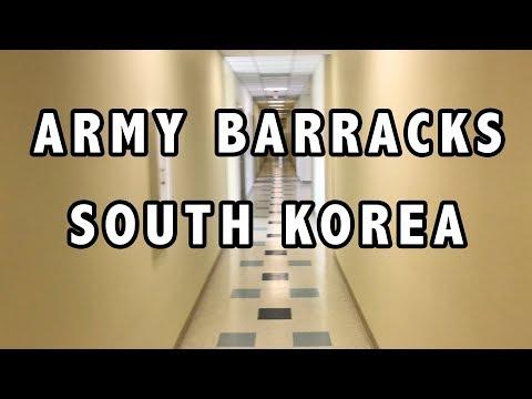 US Army Barracks Tour - South Korea
