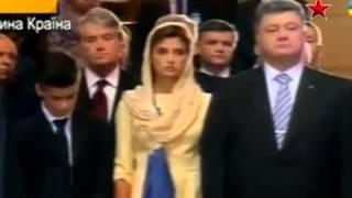 Сын Порошенко упал в обморок в церкви, в прямом эфире(Сын Порошенко упал в обморок в церкви, в прямом эфире., 2014-08-23T12:55:07.000Z)