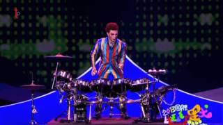 Drummers juggling act from China Comedy Festival on CCTV - Jongleur_125 Thumbnail