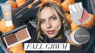 Everyday Fall Makeup GRWM   All-Natural, Organic Makeup