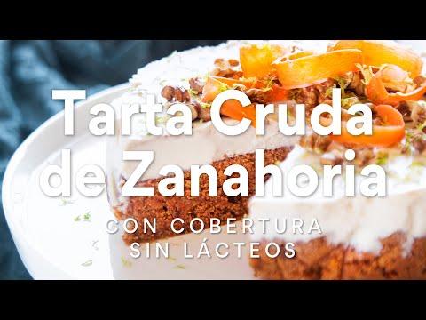 tarta-cruda-de-zanahoria-con-cobertura-sin-lácteos