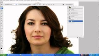 Коррекция линии лица в Фотошопе, похудение в фотошопе