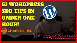 51 WordPress SEO Tips In Under an Hour!