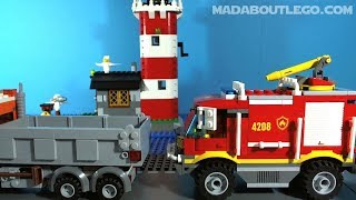 LEGO City Fire Trucks.