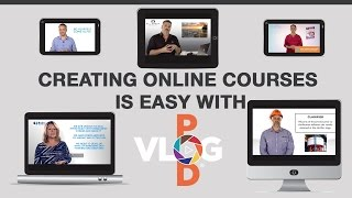 Creating Online Courses is Easy with Vlog Pod | Vlog Pod Sunshine Coast