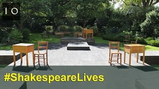 Timelapse of RSC Stage Build in Downing Street Garden