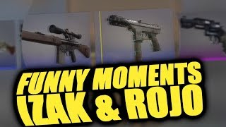 IZAK & ROJO - CS:GO - FUNNY MOMENTS
