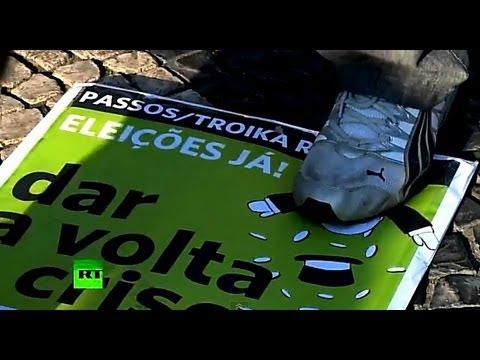 Экономический кризис толкает португальцев на преступления