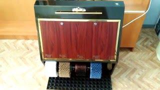 Роял Люкс4 машина для чистки обуви Обзор