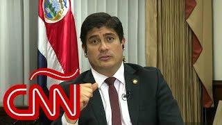 Carlos Alvarado: No tener ejército en Costa Rica