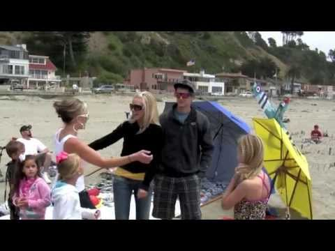 Will You Marry Me Surprise Beach Proposal With Sky Words The Very